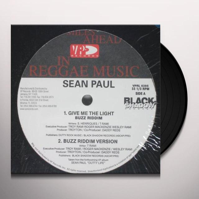Sean Paul GIVE ME LIGHT / LIKE GLUE Vinyl Record