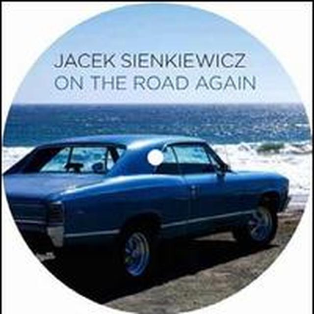 Jacek Sienkiewicz ON THE ROAD AGAIN (EP) Vinyl Record