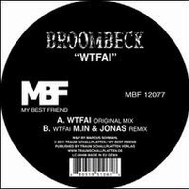 Broombeck WTFAI (EP) Vinyl Record