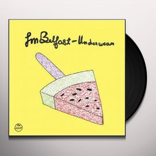 Fm Belfast UNDERWEAR (EP) Vinyl Record