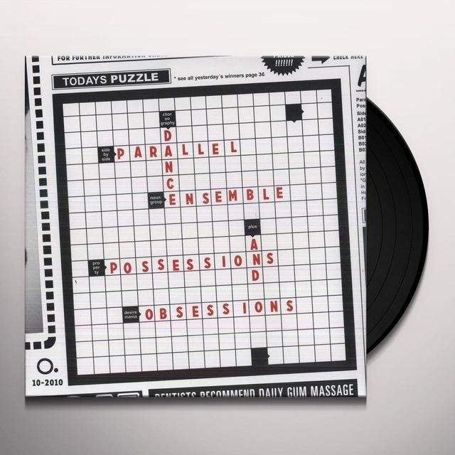 Parallel Dance Ensemble POSSESSIONS & OBSESSIONS (EP) Vinyl Record