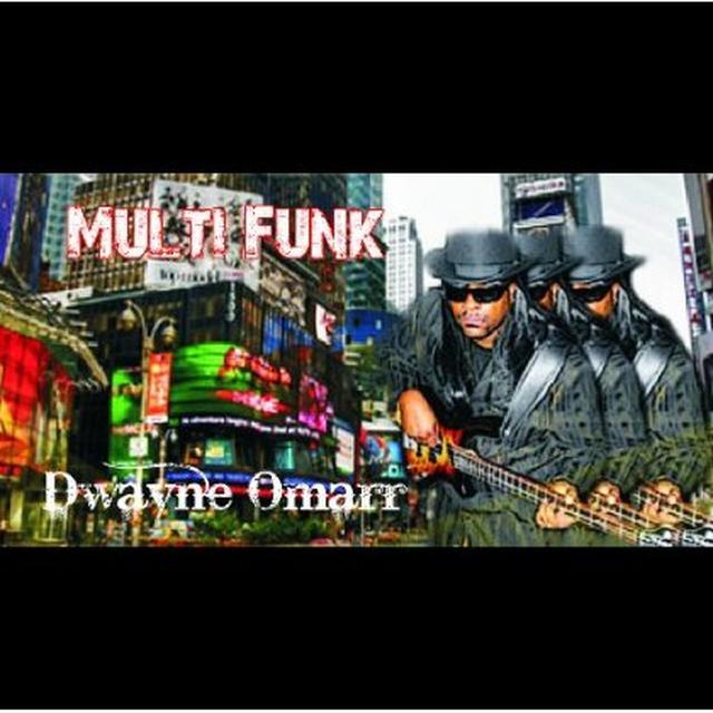 Dwayne Omarr MULTI FUNK (EP) Vinyl Record