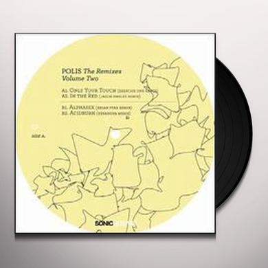 Billy Dalessandro POLIS: THE REMIXES 2 (EP) Vinyl Record
