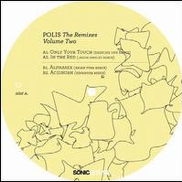 Billy Dalessandro POLIS: THE REMIXES 2 (EP) Vinyl Record