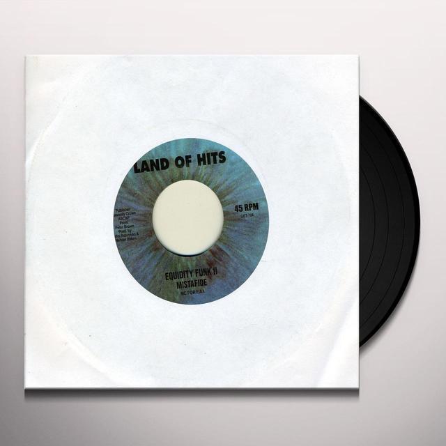 Mistafide EQUIDITY FUNK Vinyl Record