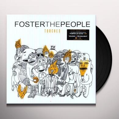 Foster The People TORCHES Vinyl Record