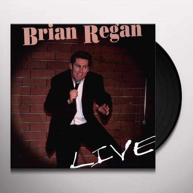 Brian Regan LIVE Vinyl Record