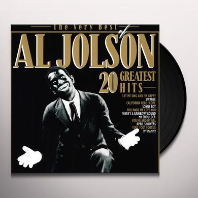 Al Jolson VERY BEST OF Vinyl Record