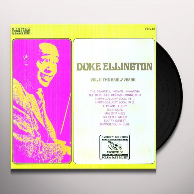 Duke Ellington EARLY YEARS 2 Vinyl Record