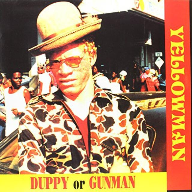 Yellowman DUPPY OR GUNMAN Vinyl Record