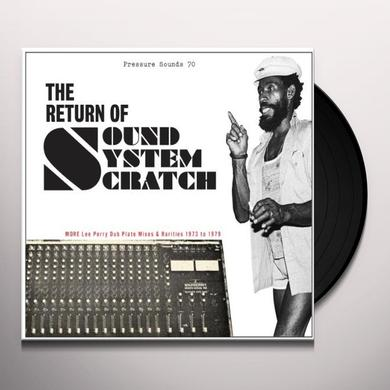Lee Perry & Upsetters RETURN OF SOUND SYSTEM SCRATCH: MORE LEE PERRY Vinyl Record