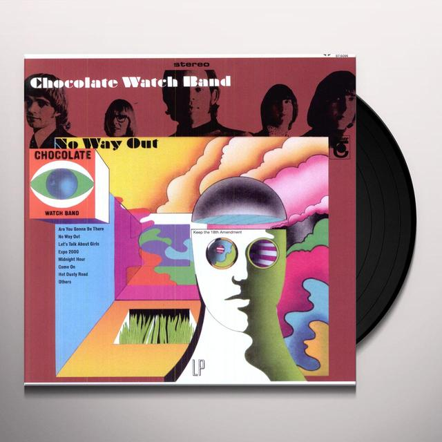 The Chocolate Watchband NO WAY OUT Vinyl Record