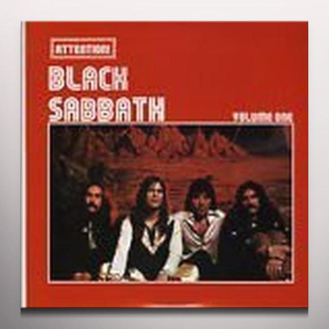 ATTENTION BLACK SABBATH VOLUME ONE Vinyl Record - Colored Vinyl