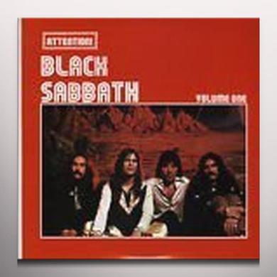 ATTENTION BLACK SABBATH VOLUME ONE Vinyl Record - Colored Vinyl