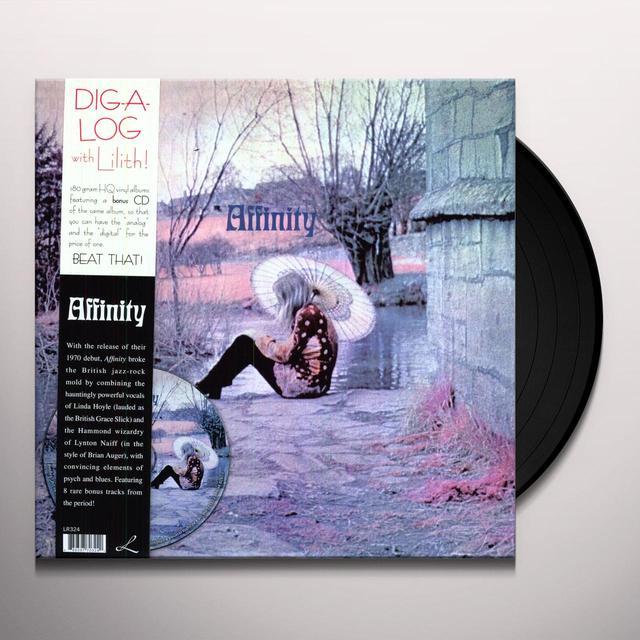 AFFINITY (BONUS CD) Vinyl Record
