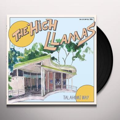 High Llamas TALAHOMI WAY Vinyl Record