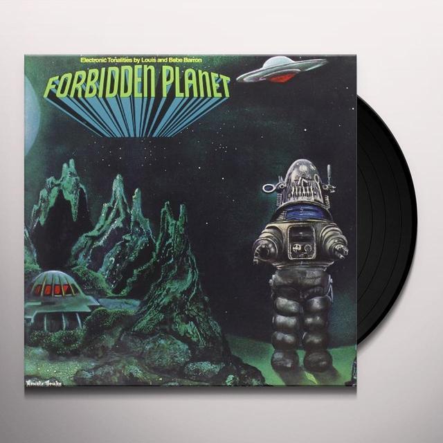 Louis Barron / Bebe Barron FORBIDDEN PLANET / O.S.T. Vinyl Record