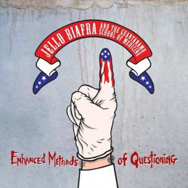 Jello / Guantanamo School Of Medicine Biafra ENHANCED METHODS OF QUESTIONING Vinyl Record