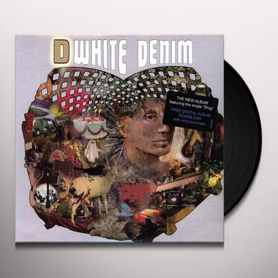 White Denim D Vinyl Record