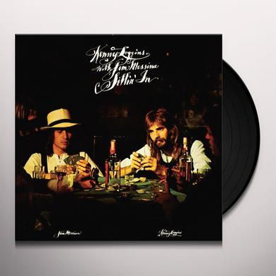 Loggins & Messina SITTIN IN Vinyl Record - Limited Edition, 180 Gram Pressing