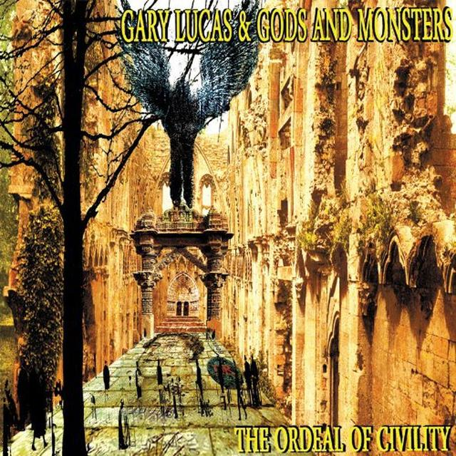 Gary / God Lucas & Monsters ORDEAL OF CIVILITY Vinyl Record