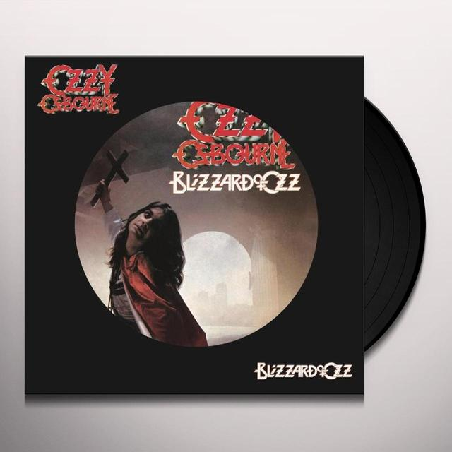 Ozzy Osbourne BLIZZARD OF OZZ Vinyl Record - Picture Disc, Remastered