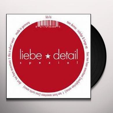 Tom Demac INDULGE & LUNGE (EP) Vinyl Record