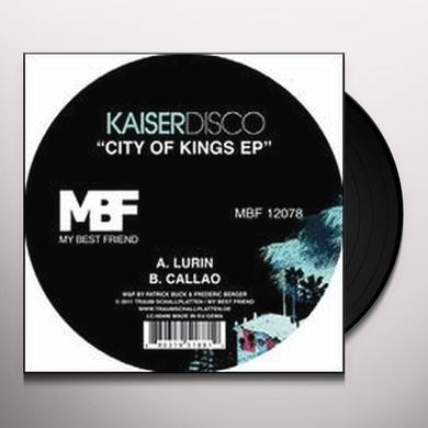 Kaiserdisco CITY OF KINGS (EP) Vinyl Record