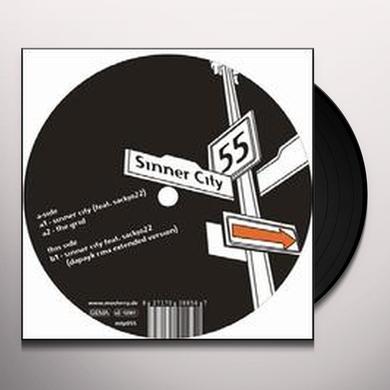 Vladimir Corbin & Vladimir Peddy SINNER CITY (EP) Vinyl Record