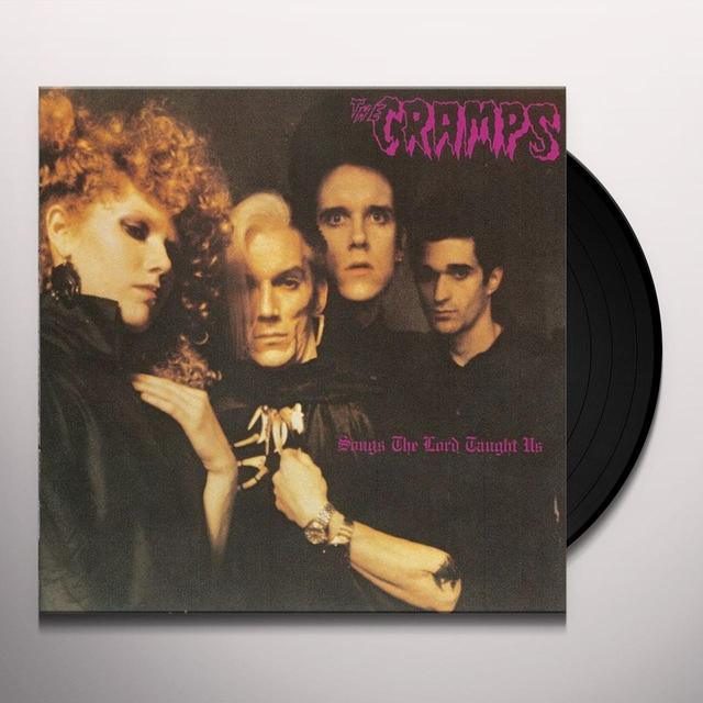 The Cramps SONGS THE LORD TAUGHT US Vinyl Record