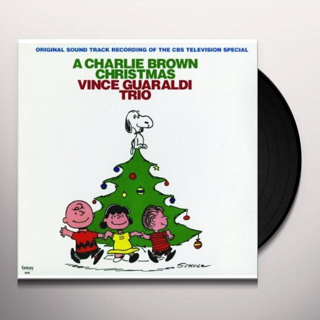 Vince Guaraldi CHARLIE BROWN CHRISTMAS Vinyl Record