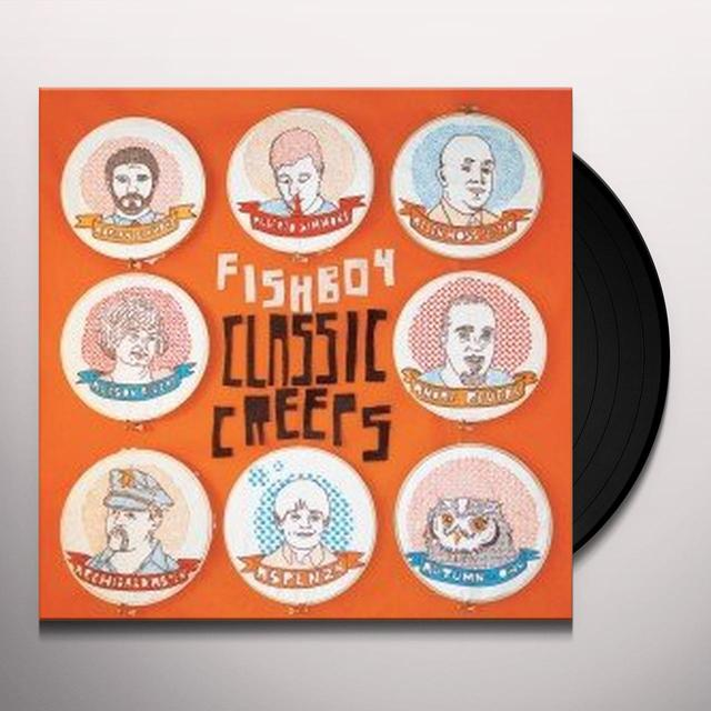 Fishboy CLASSIC CREEPS Vinyl Record