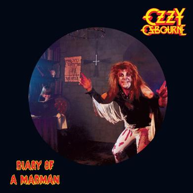 Ozzy Osbourne DIARY OF A MADMAN (PICTURE DISC) Vinyl Record