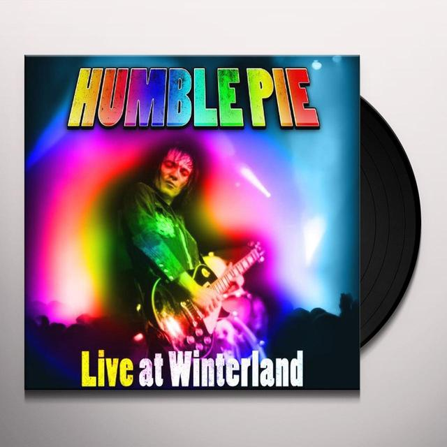 Humble Pie LIVE AT WINTERLAND Vinyl Record