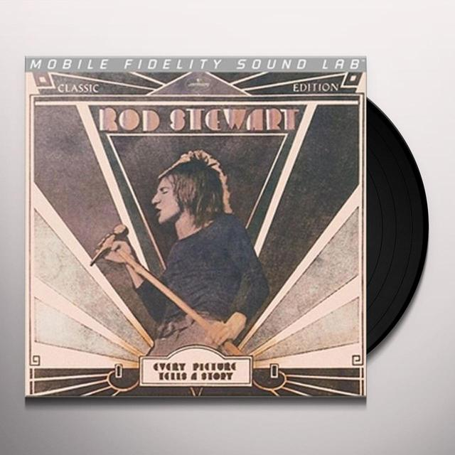Rod Stewart EVERY PICTURE TELLS A STORY Vinyl Record - Limited Edition