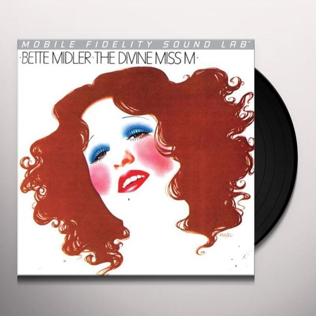 Bette Midler DIVINE MISS M Vinyl Record - Limited Edition