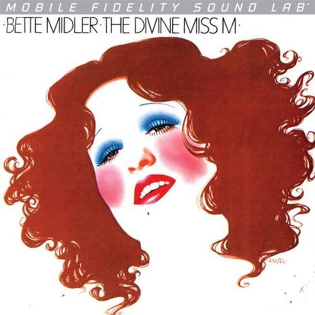 Bette Midler DIVINE MISS M Vinyl Record