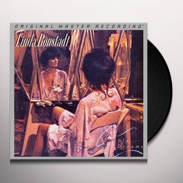 Linda Ronstadt SIMPLE DREAMS Vinyl Record - Limited Edition, 180 Gram Pressing