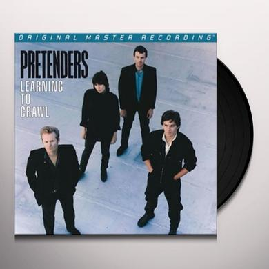 Pretenders LEARNING TO CRAWL Vinyl Record - Limited Edition, 180 Gram Pressing