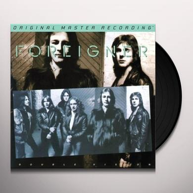 Foreigner DOUBLE VISION Vinyl Record