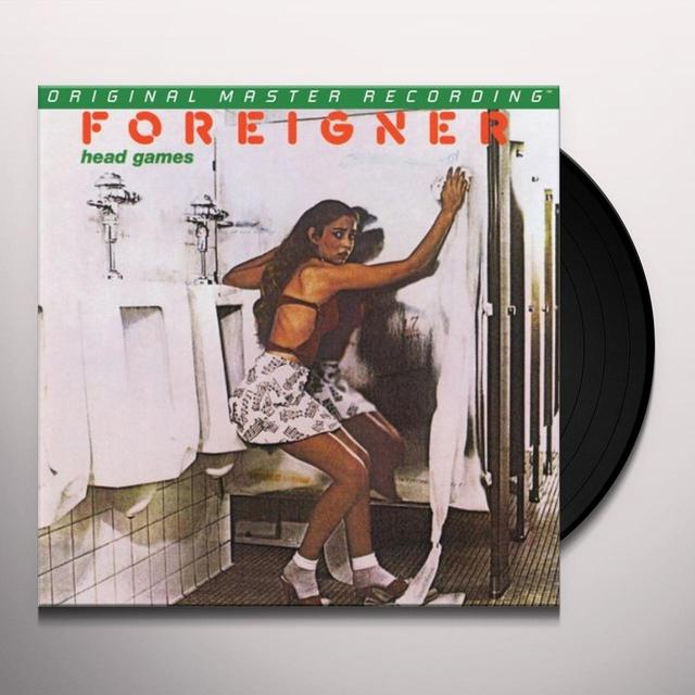 Foreigner HEAD GAMES Vinyl Record - Limited Edition, 180 Gram Pressing