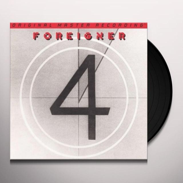 Foreigner 4 Vinyl Record - Limited Edition, 180 Gram Pressing