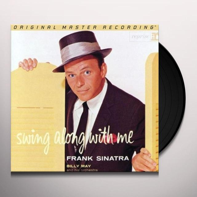 Frank Sinatra SWING ALONG WITH ME Vinyl Record - Limited Edition, 180 Gram Pressing