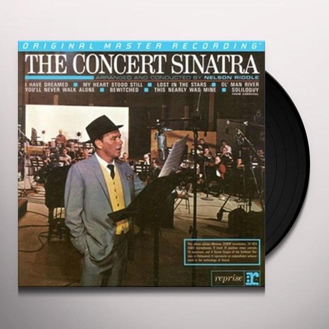 Frank Sinatra CONCERT SINATRA Vinyl Record - Limited Edition, 180 Gram Pressing
