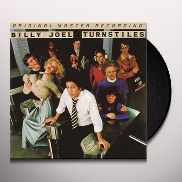 Billy Joel TURNSTILES Vinyl Record - Limited Edition, 180 Gram Pressing