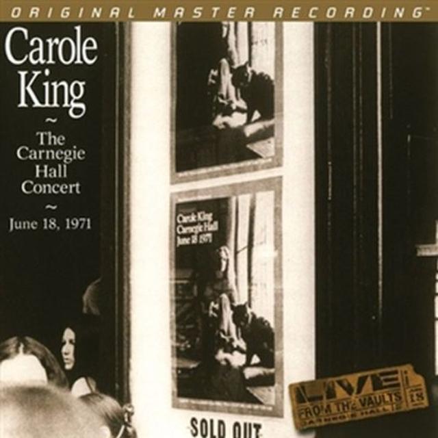 Carole King CARNEGIE HALL CONCERT: JUNE 18 1971 Vinyl Record - Limited Edition, 180 Gram Pressing