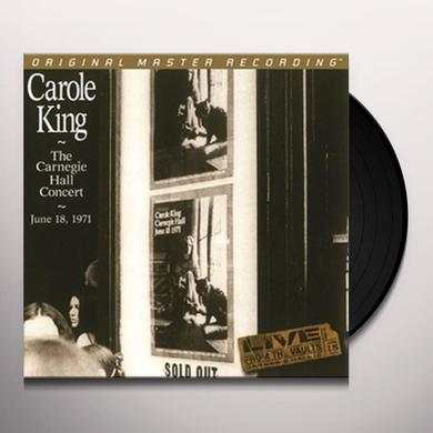 Carole King CARNEGIE HALL CONCERT: JUNE 18 1971 Vinyl Record - Limited Edition, 180 Gram Pressing