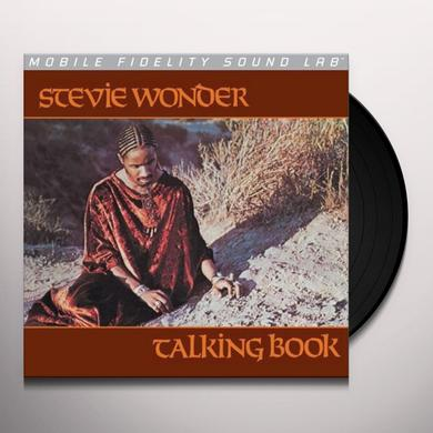 Stevie Wonder TALKING BOOK Vinyl Record - Limited Edition
