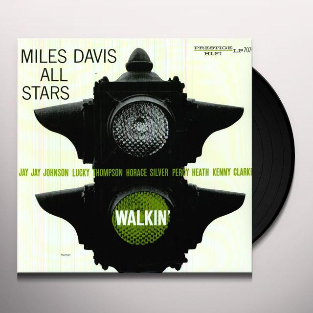 Miles Davis All Stars WALKIN Vinyl Record