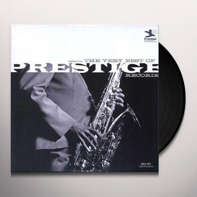 VERY BEST OF PRESTIGE RECORDS / VARIOUS Vinyl Record